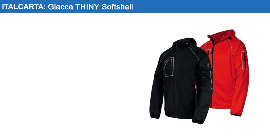 Giacca thiny softshell